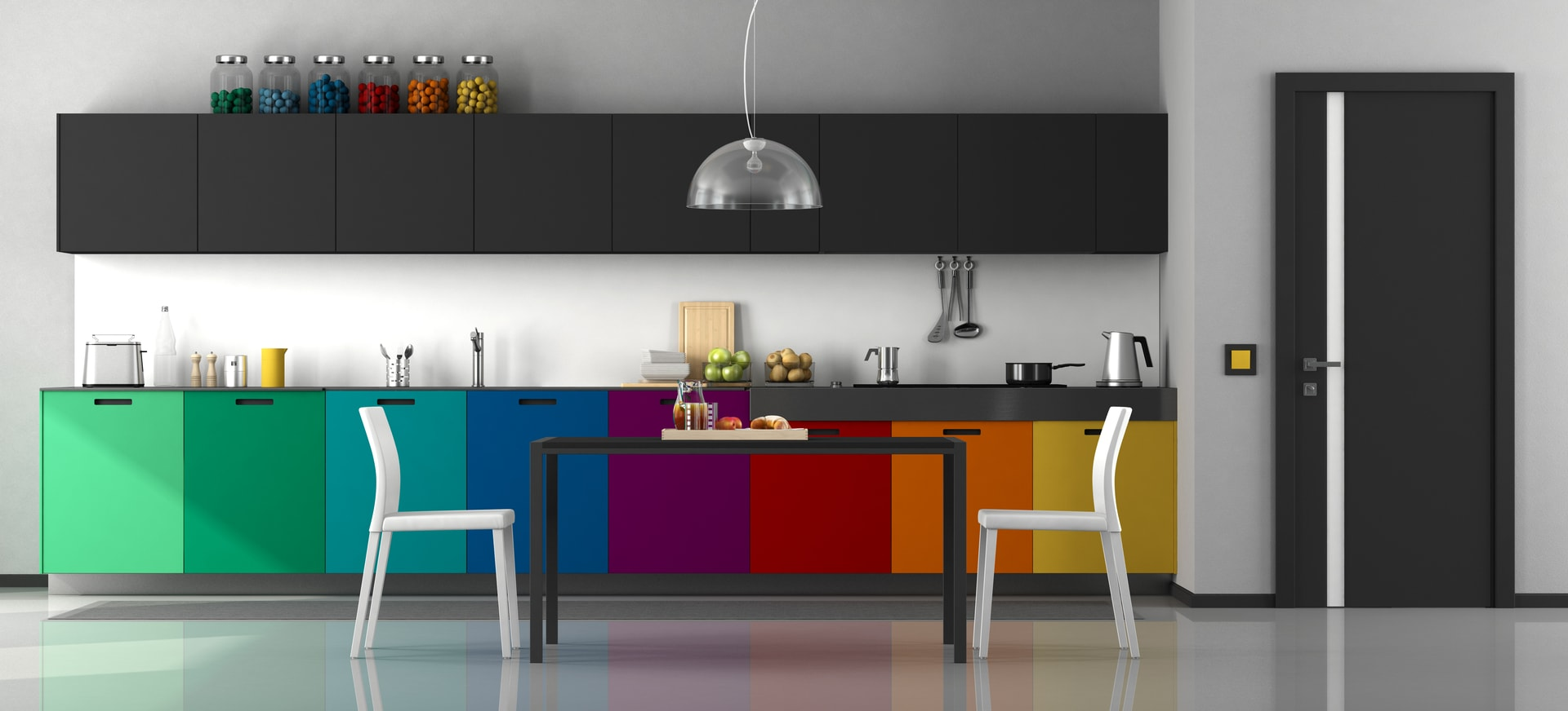 Top Trending color schemes for kitchens