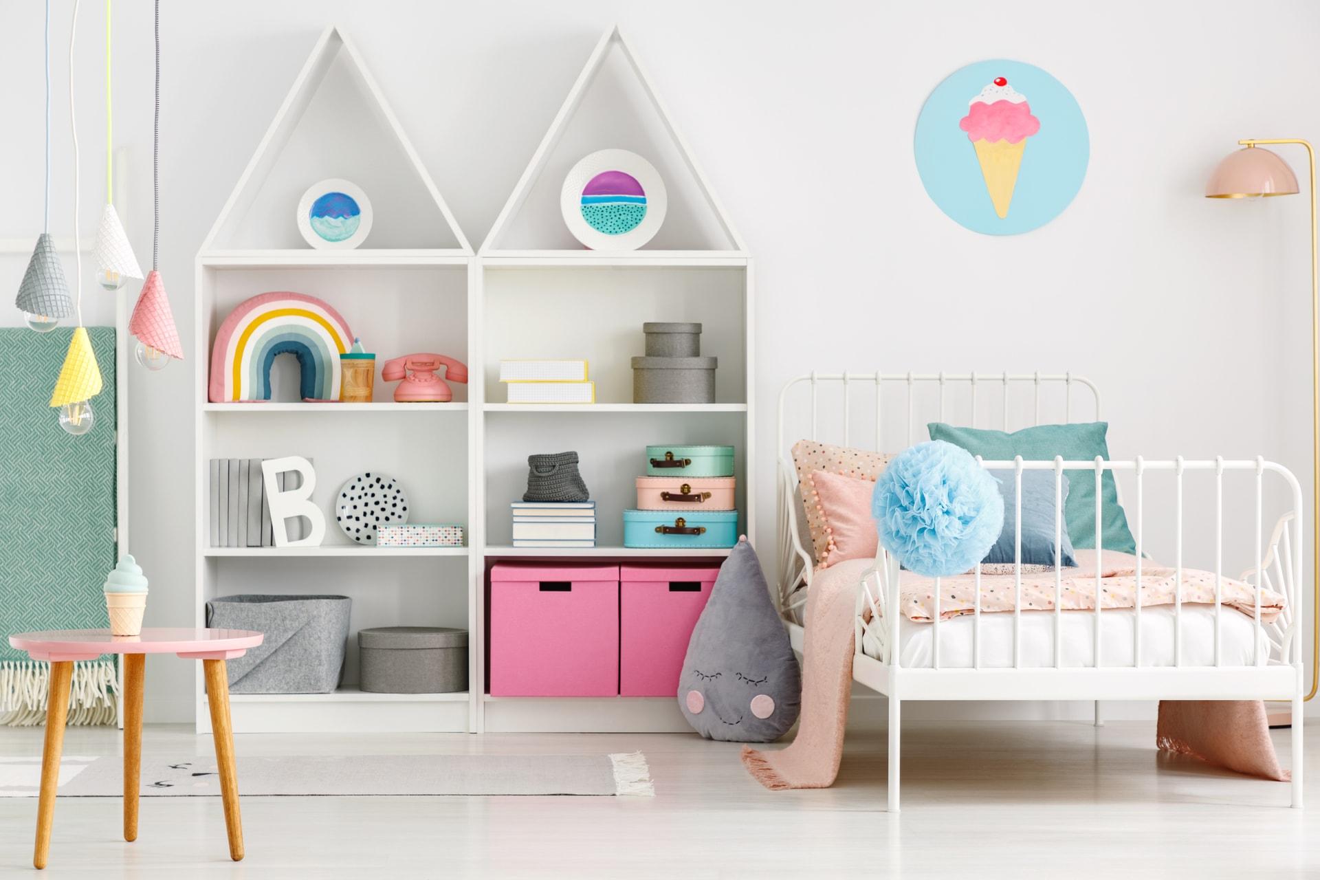 Best color scheme for Kids' Rooms